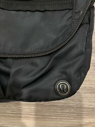 Lululemon Festival Bag Teal Black Crossbody $45.00