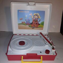 Vintage 1984 Radio Shack Portable Sing Along Childrens Record Playerparts Only