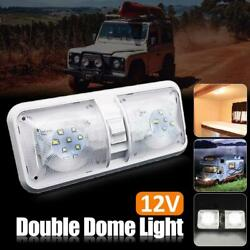 1pc 48 Led Dome Ceiling Cabin Lights Fixture Camper Trailer Marine Interior Lamp