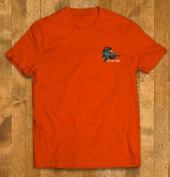 Aircraft Fighter F-15 Eagle Orange Red Color Menand039s T Shirts Short Sleeve