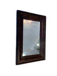 Ogee American Empire Mirror 40.2 @26.5 Flamed Mahogany Painting Frame 30.5@17.2