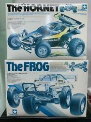 Tamiya R/c The Hornet And The Flog Not Assembled Unused It Has Scratches And Dirt