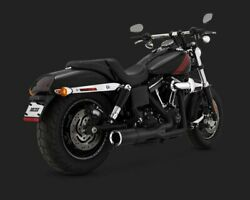 Vance And Hines Hi-output 21 Short Exhaust System Black 46541