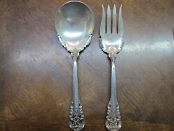 Wallace Grand Baroque Sterling Silver Salad Set 2pc