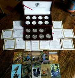 The North American Upland Game Birds Silver Proof Collection