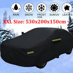 Xxl Waterproof Full Car Cover Dust Uv Protection For Mercedes-benz S-class Long