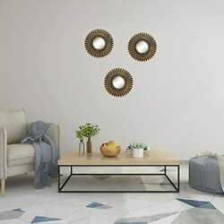 Small Round Mirrors for Wall Decor Set of 3 Great Home Accessories