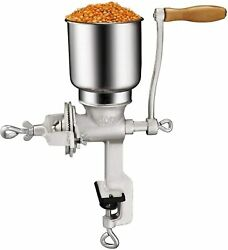 Cast Iron Corn Grinder For Wheat Grains Or Use As A Nut Mill
