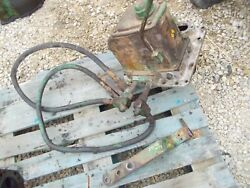 Oliver 88 Diesel Tractor Hydraulic Hydra Pump Assembly / Rear Hoses And Mt Bracket