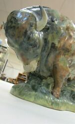 Lladro Bison 4945 Lg Size 1976-1978 Only Very Rare Mint No Damage Salvador Furio