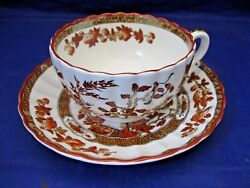 Antique Copeland Spode Tea Cup And Saucer - India Tree Pattern Made In England