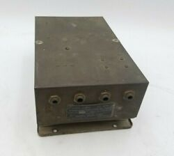 Andrea Radio Corp Bc-709-c Interphone Amplifier Us Army Aviation Aircraft Equip
