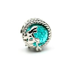 Authentic Pandora Sterling Silver 925 Ale Mermaid By The Ocean See Charm