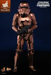 1/6 Hot Toys Mms330 Star Wars Stormtrooper Copper Chrome Version Figure