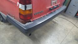 1989-93 Volvo 240 Wagon Rear Bumper With Cover And Mounts Oem. Local Pickup Only.