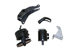 65 66 68 67 68 Chevelle Big Block Power Steering Pump With Pulley, Brackets, Cnt