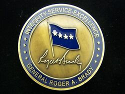 33rd Commander Usafe Us Air Forces Europe General Roger Brady Challenge Coin V1