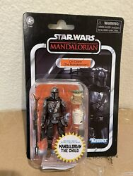 Star Wars: Vintage Collection Din Djarin The Mandalorian with The Child