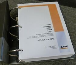 Case 580sn And 590sn Tier 4 Tractor Loader Backhoe Shop Service Repair Manual