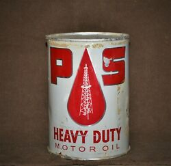 Holy Grail Iowa Oil Company History Pester And Schaefer Heavy Duty Oil Can 1950and039s