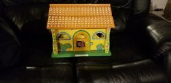 Dora The Explorer Talking Doll House With Some Furniture And Figures
