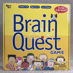Brain Quest Game By University Games 2 To 4 Players Grades 1 To 6 Ages 6 To 12