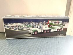2002 Hess Toy Truck And Airplane New In Box Lights And Sounds Never Displayed