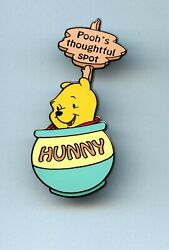 Disney Auctions Winnie The Pooh In Honey Pooh's Thoughtful Spot Pot 2 Pin