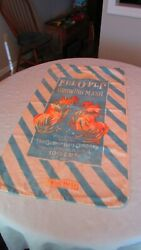 Vintage Quaker Oats Co. Ful-o-pep Chicken Feed Growing Mesh Feed Sack