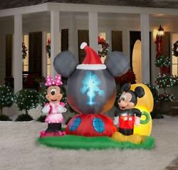 Disney 6.5 Ft Panoramic Projection Mickey Mouse's Clubhouse Scene Inflatable