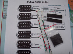 Gibson 5-pin Quick-connect Adapter Kit For Seymour Duncan Humbucker Pickups