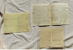 Incredible Civil War Solders Letters Clay County,ky Elisha Stivers Died