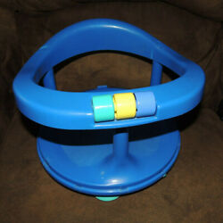 Safety 1st First Baby Bath Tub Seatblueswivelsuction Cupsafety First