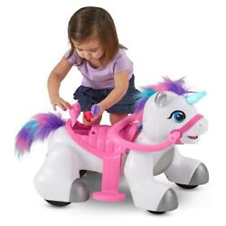 Unicorn Interactive Ride-on Toy For Toddlers Kid With Sounds And Accessories Sets