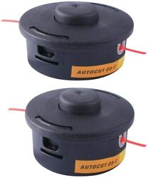 2 Pack Weed Eater For Stihl Autocut 25-2 Fs90 Fs100 Fs110 Fs130 Etc Trimmer Head