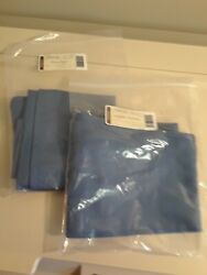 Longaberger Cornflower Paper Tray Set 2-basket Liners Both Paper And Tapered New