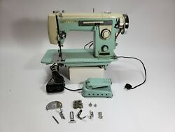 Vintage 1959 Galaxie 230 Brother Sewing Machine- Fair Condition, Read.