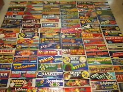 Huge Collection Of 100 Old Vintage California Grape Crate Labels - All Different