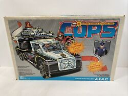 Vintage 80and039s Hasbro Cops N Crooks - A.t.a.c. Atac - Mint In Sealed Box Afa