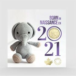 2021 Canada Baby Gift Set Of Coins
