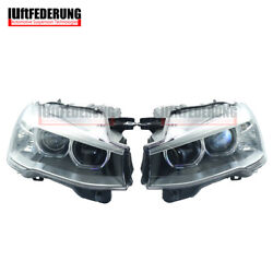 Luftfederung Pair Fit Bmw X3 X4 F25 F26 Xenon Led Without Afs Front Headlamp