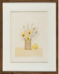 Mary Faulconer Ginger Beer 1981 Signed Limited Edition Serigraph Framed 7