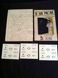 Tsr Star Probe And Map Rpg Miniatures Rules John Snider 1975 2nd Print Roger Moore