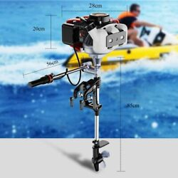 ⭐⭐anbull 2stroke 3.5hp⭐⭐outboard Motor Fishing Boat Gas Engine Air-cooled Usa
