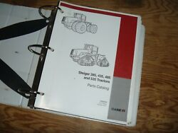 Case Steiger 385 435 485 535 Tractor Parts Catalog Manual Book 87639133