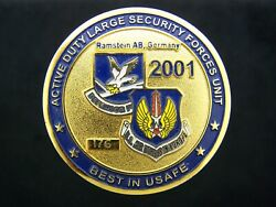 Usaf Air Force 86th Security Forces Squadron Sfs Best In Usafe Challenge Coin