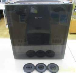 Sony Open Reel Deck Tc-7750-2 Black Good Condition From Japan