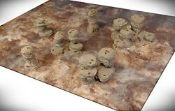 Wargame Terrain - Spires And Plateaus Starter Bundle 6 Pieces - Dandd Rpg Aos 40k