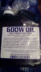 1928-1931 Model A Ford 600w Oil For Transmissions And Differentials