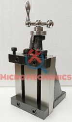 Lathe Milling Vertical Slide 100 X 125 Mm 4 X 5 Bed Size With Clamping Jaws